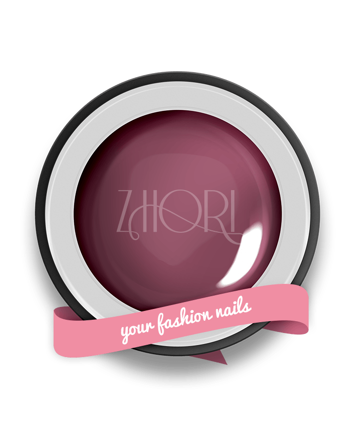Antique Rose gel color nude - N03 - Zhori.it