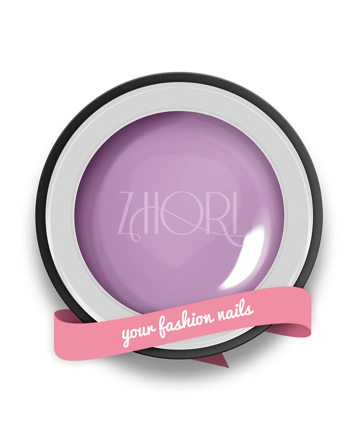 Delicius Lilac gel color Classic UV Led Zhori CL15