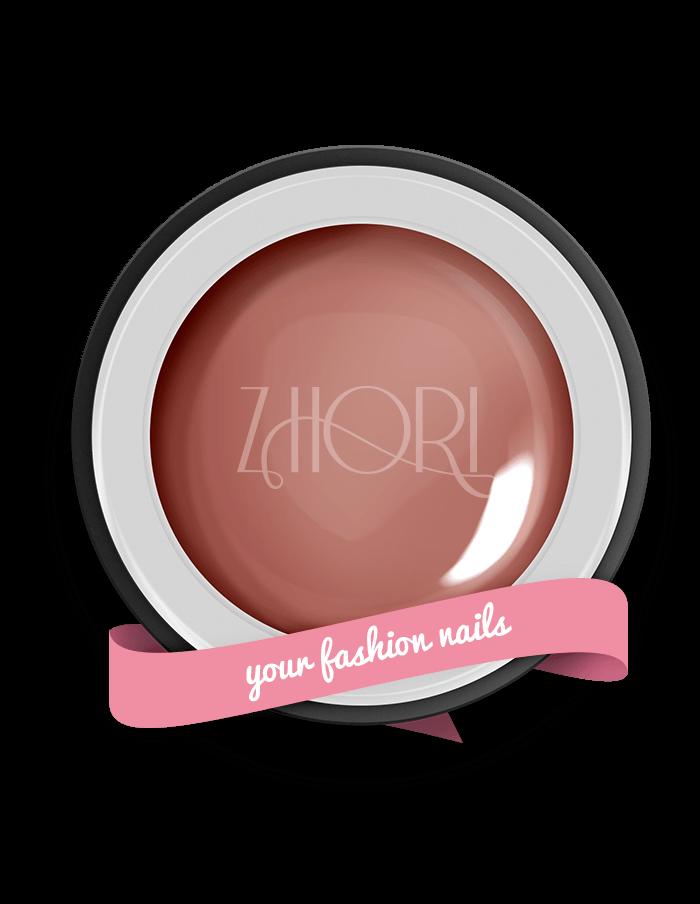 DARK ROSE gel color nude - N02 - Zhori.it