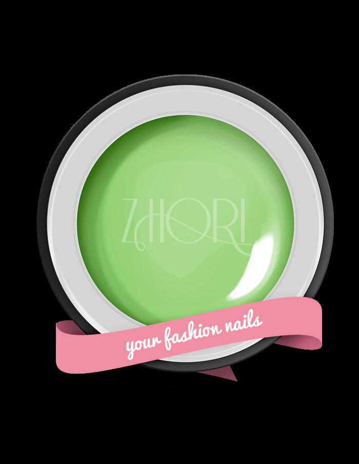 Macarons Green gel color Classic UV Led Zhori CL14