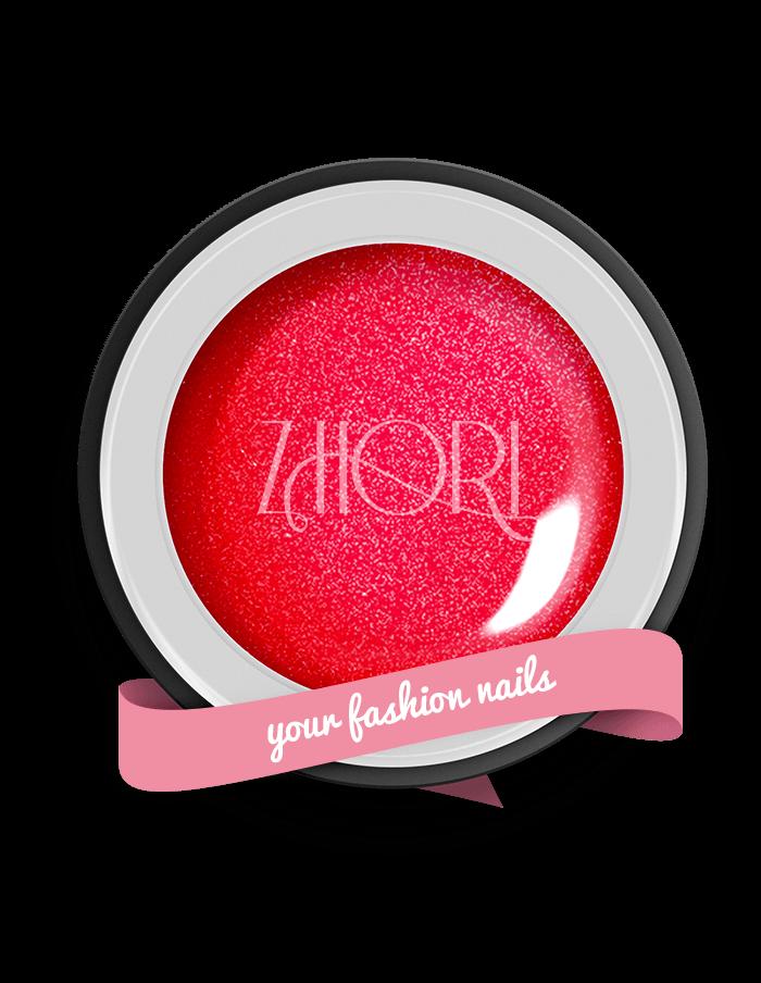 Red Fantasy gel color Pearl UV / Led MP03