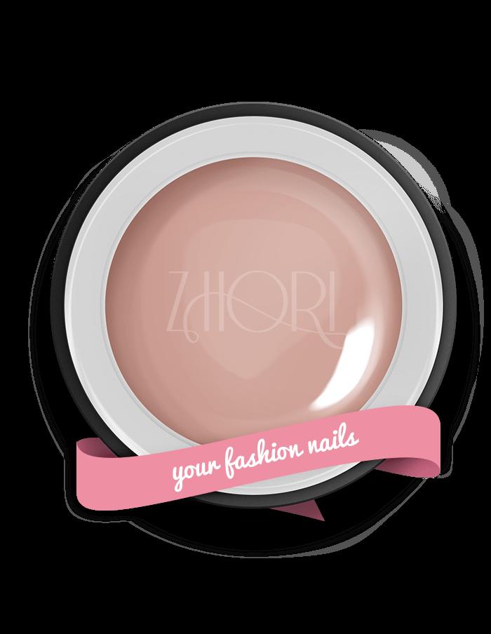 Nude Rose gel color UV Led Zhori CL65