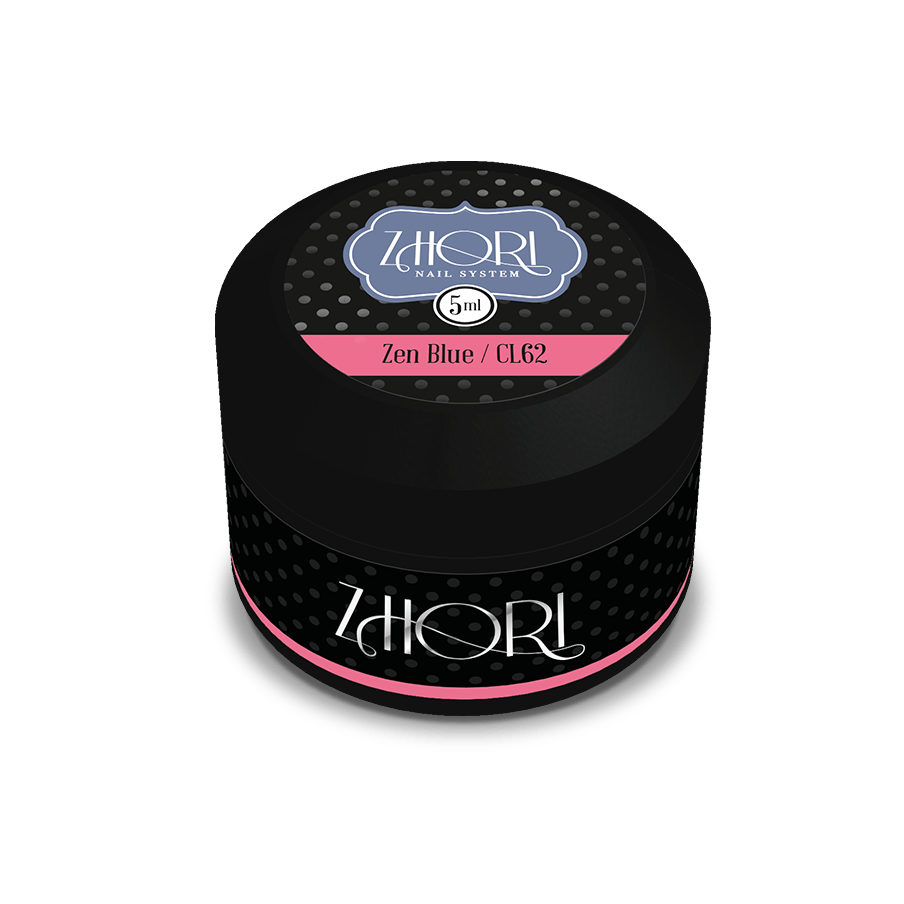 Zen Blue gel color UV Led Zhori CL62